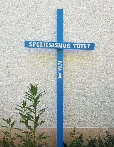 PETA - Kreuz