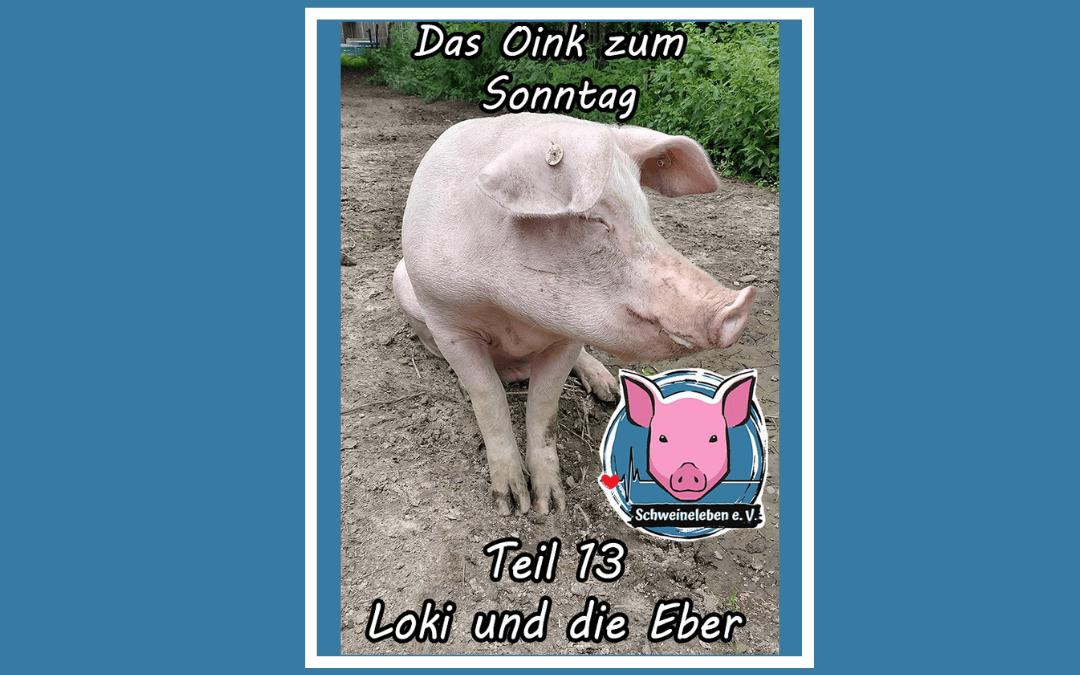 Das Oink zum Sonntag (Teil 13) – Loki und die Eber (von Jörg Kipka)